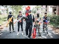LTT Nerf War Two Special police Attack Crime Group SEAL X Fight Rescue the lover By Nerf Guns