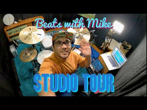 Take a tour of my studio!