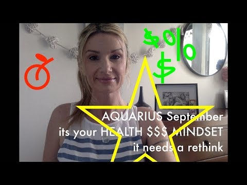 AQUARIUS SEPTEMBER PRACTICAL MEASURES APPLY  2019 Psychic Tarot Amazing spooky accurate