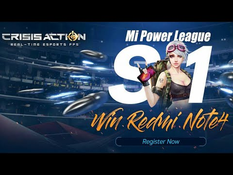 Video CARA DAFTAR TOURNAMENT MI LEAGUE S1 CRISIS ACTION 16 JULY 2017