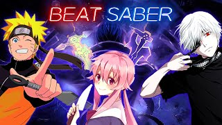 beat saber expert perfect anime - TH-Clip
