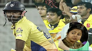 Thalapathi Vijay Brother Vikranth Dominates with 2 Fours in the First Over in Chennai Vs Kolkatta