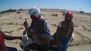 preview picture of video 'رايد مشترك بين فريق ذي قار للدراجات النارية و فريق الديوانية للدراجات في سفره ترفيهية بمدينة السماوة'