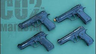 Стартовый пистолет Blow F 92 от компании CO2 - магазин оружия без разрешения - видео