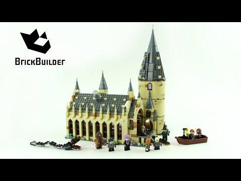 Vidéo LEGO Harry Potter 75954 : La Grande Salle du château de Poudlard