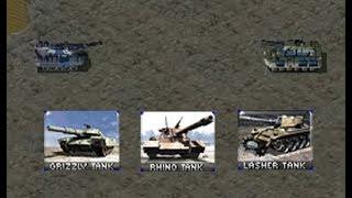 Red Alert 2: Yuri's Revenge - Comparing Basic Tanks