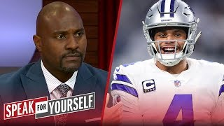 Whitlock and Wiley discuss if Dak Prescott is a franchise QB for Cowboys | NFL | SPEAK FOR YOURSELF
