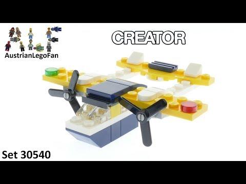 Vidéo LEGO Creator 30540 : Yellow Flyer (Polybag)
