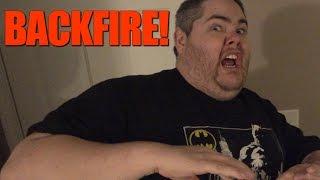 BRIDGETTE'S LOCKED OUT! (PRANK BACKFIRE)