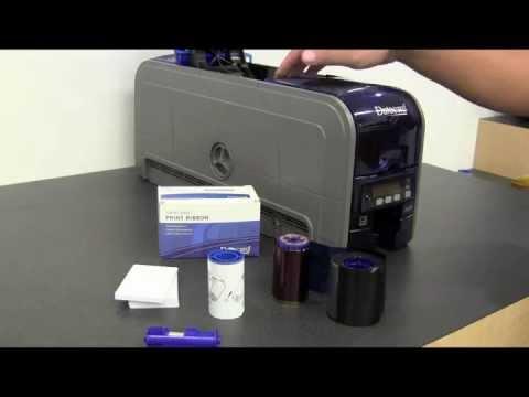Datacard SD und CD Kartendrucker - Installationsanleitung