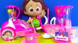 Niloya Staubsauger mit Beleuchtung und Geräuschen Wir packen Spielzeughaushaltsgeräte aus