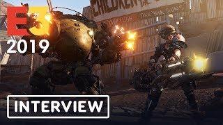 Borderlands 3 Moze Gameplay and New World Developer Interview - IGN LIVE | E3 2019