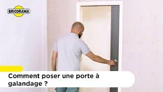 TUTO Poser une porte à galandage