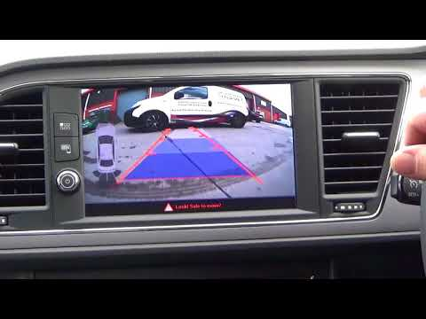 Seat Leon FR 5F Rear View Camera Retrofit - смотреть онлайн
