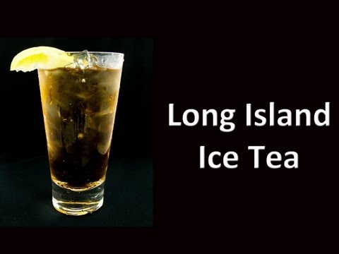 Video Best Long Island Ice Tea Cocktail Drink Recipe