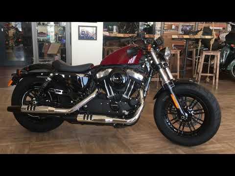 Harley-Davidson Forty-Eight 2020 Stiletto Red