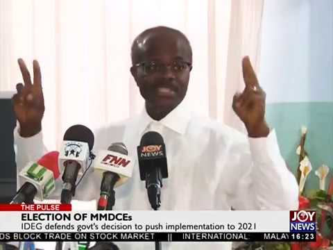 Election of MMDCEs - The Pulse on JoyNews (10-5-18)
