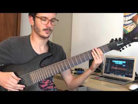 Twelve Foot Ninja - Ain't That A Bitch (guitar cover)