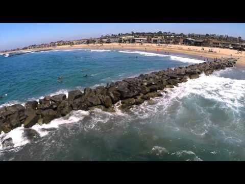 Video Surfing in LA: Road to Huntington Beach