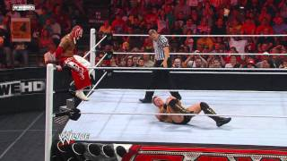 Raw: Rey Mysterio vs. The Miz - WWE Championship Tournament