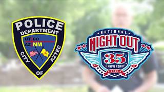 Aztec Police Department National Night Out 2018