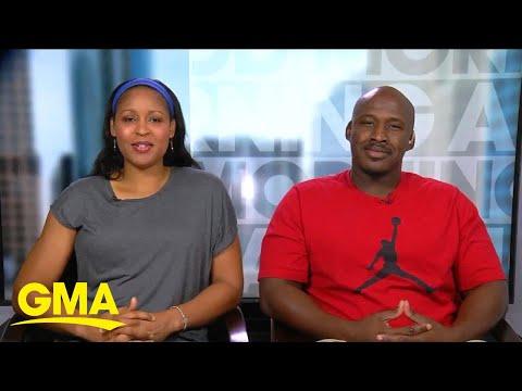 WNBA star Maya Moore and Jonathan Irons share wedding news l GMA