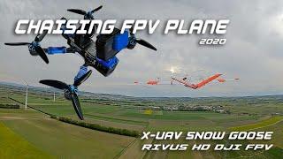 Chasing FPV Plane