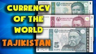 Currency of the world - Tajikistan. Tajikistani somoni. Exchange rates Tajikistan