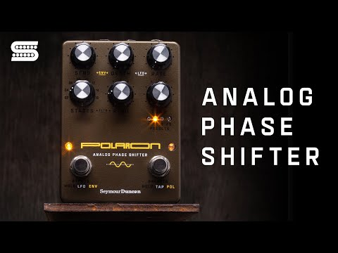 ntroducing the Polaron Analog Phase Shifter Pedal | Seymour Duncan