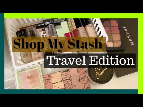Weekly Makeup Drawer: Travel Edition October 2018 | Shop my Stash Morphe 35M, Pixi Beauty & More!