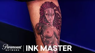 Elimination Tattoo: Medusa - Ink Master, Season 8