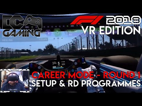 F1 2018 VR | Vorpx Setup and in game settings - DCGaming - Video