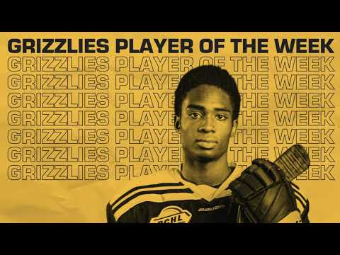 Andrew Amousse | April 18th | Grizzlies Player of the Week