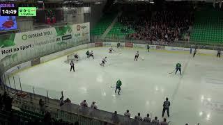 Člani AHL 13.3.2018 HK SŽ Olimpija – HDD Acroni Jesenice 0:6, posnetek celotne tekme