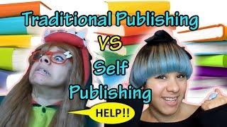 ❤ PROS & CONS ❤ Traditional Publishing vs Self Publishing