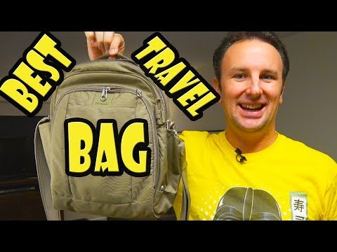 Best Travel Bag – Pacsafe Metrosafe LS250 Anti-Theft Shoulder Bag Review