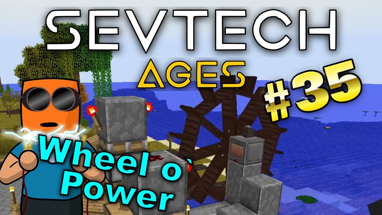 Minecraft - Kinetic dynamo - SevTech Ages #35