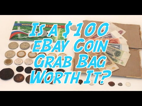 Guy Buys $100 eBay Coin Grab Bag! Should You Too?