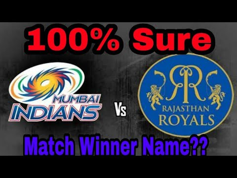 IPL 2018 [MI VS RR] Match winner name,  best player