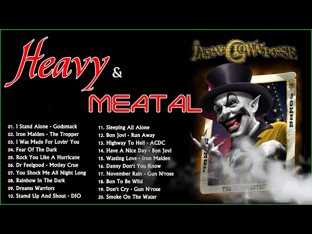 heavy metal rock music