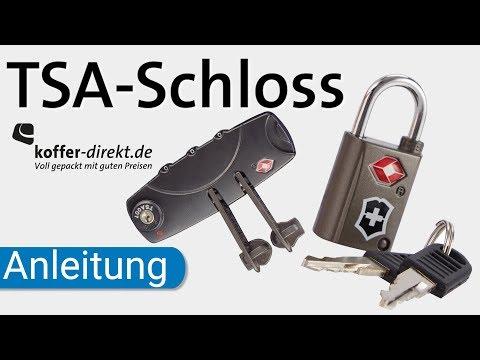 TSA Schloss | erklärt | einstellen | Code vergessen | koffer-direkt.de