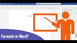 Formeln in MS Word?