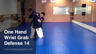 Hapkido One Hand Wrist Grab Defense 14