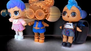 Космические приключения Куклы Лол Сюрприз #Lol Families Surprise Dolls Мультик! Видео для детей