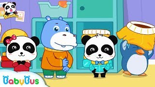 Baby Panda Wears Clothes On His Own | Nursery Rhymes | Kids Songs | Children Learning | BabyBus