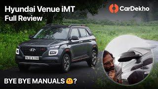 🚗 Hyundai Venue iMT Review in हिंदी | ये आराम का मामला है?| CarDekho.com