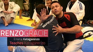 Katagarenzo? Renzo Gracie shows his innovative choke on Demian Maia