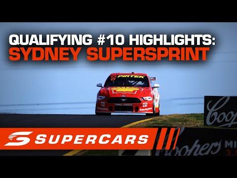 SUPERCARS シドニースーパースプリント 予選ハイライト動画