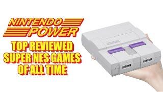 Nintendo Power Picks the Games on the Super NES Mini