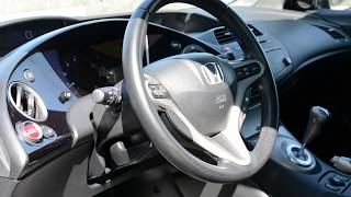 HONDA CIVIC 5D 2007 ОБЗОР И ТЕСТ-ДРАЙВ В ОДЕССЕ! REWIEW AND TEST DRIVE IN ODESSA!